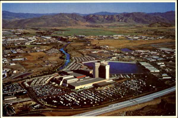 Vintage MGM Grand Hotel Reno Nevada Las Vegas ~ Gambling