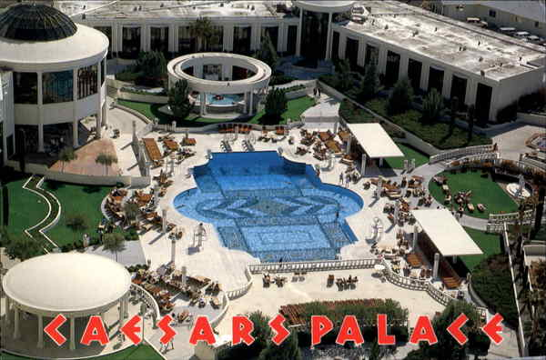 Caesars By The Pool Las Vegas Nevada
