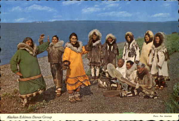 Alaskan Eskimos Dance Group Native Americana