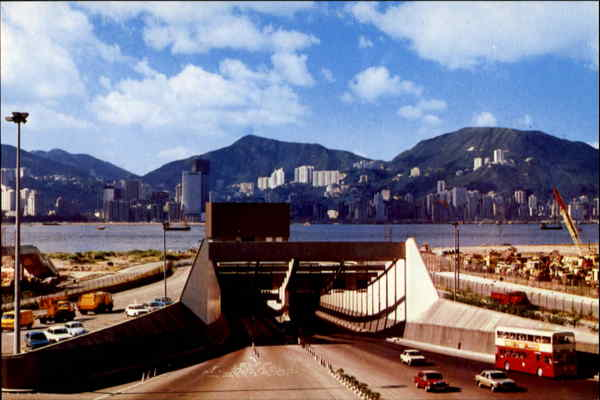 Harbour Tunnel-Hong Kong To Kowloon China
