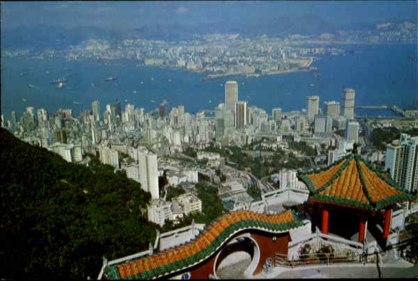 Hong Kong & Kowloon From The Peak China