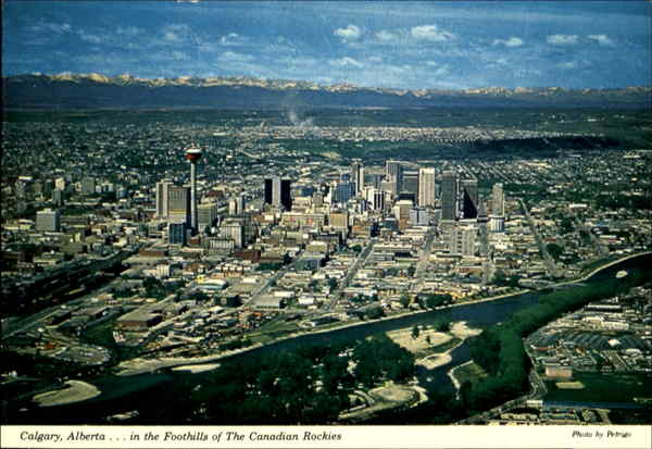 Greetings From Calgary. . . The Stampeded City Canada