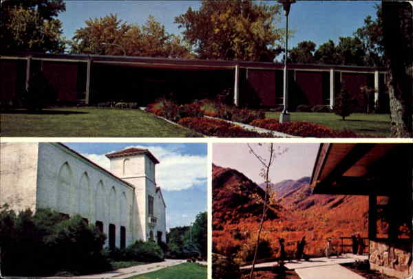 A Civic Center & Library Springville Utah
