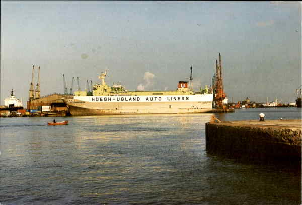 Autotransporter, King George Dock Hull Boats, Ships