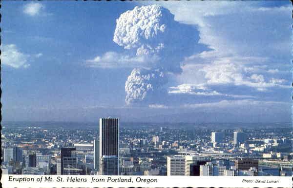 Eruption Of Mt. St. He...