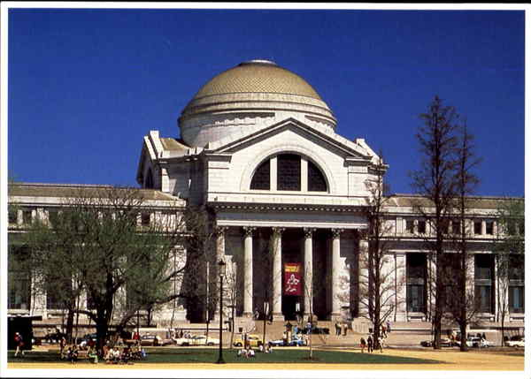 National Museum Of Natural History, Constitution Avenue at 10th Street, NW Washington District of Columbia