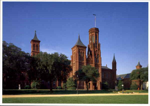 Smithsonian Institution Building, Jefferson Dr. at 10th Street, SW Washington District of Columbia