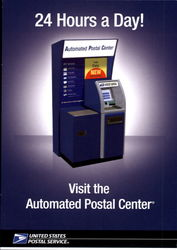 Automated Postal Center