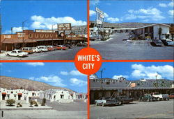White's City Postcard