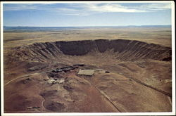 The Great Meteor Crater, Northern Arizona