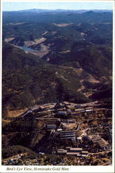 Bird's Eye View Homestake Gold Mine