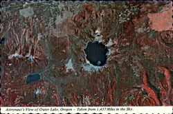 Astronaut's View Of Crater Lake, Crater Lake