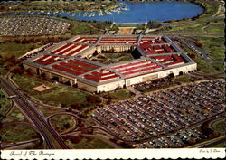 Aerial Of The Pentagon