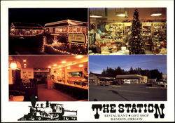 The Station Restaurant Gift Shop Postcard