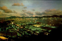 Night Scene Of Kowloon