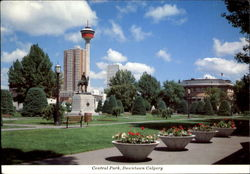 Central Park Downtown Calgary Postcard
