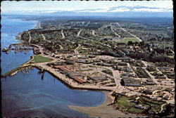 Tyee Plaza, Campbell River Postcard