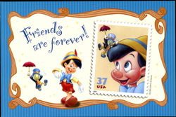 Friends Are Forever Pinochio