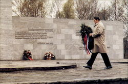 Reagan Visit To Bergen-Belsen Concentration Camp
