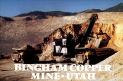 Kennecott's Bingham Copper Mine