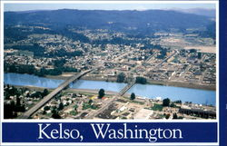Aerial View Of Kelso