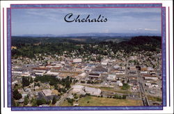 Aerial View Of Chehalis