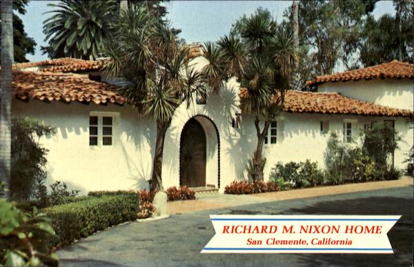 Richard M Nixon Home San Clemente Ca