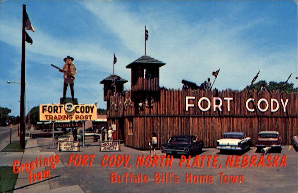 North Park Lincoln >> Greetings From Fort Cody Trading Post, Buffalo Bill's Home ...