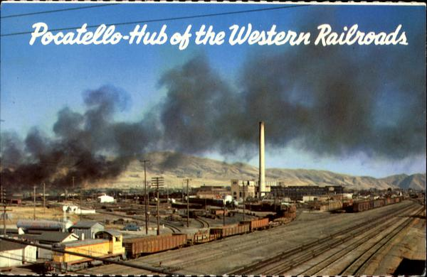 Railroad Yards Pocatello Idaho