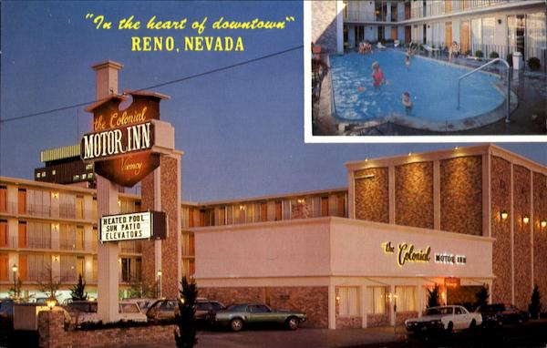 the colonial motor inn 232 west st reno nv