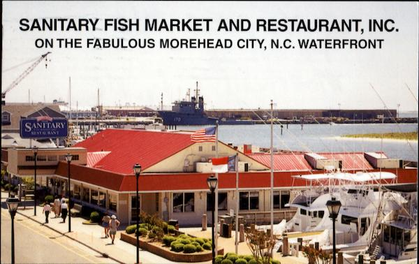 Sanitary fish market and restaurant inc morehead city nc for Fishing morehead city nc