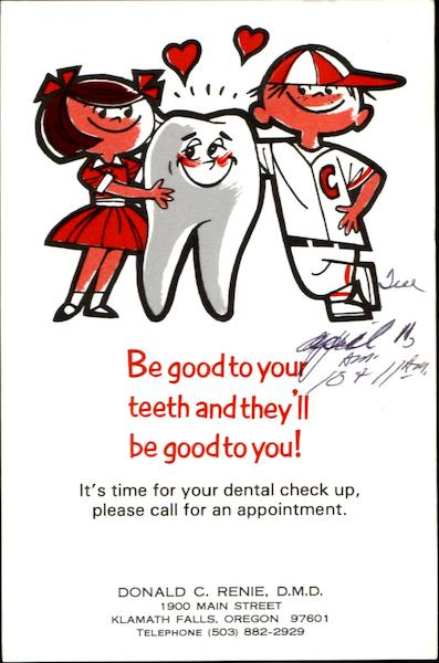 Be Good To Your Teeth And They'll Be Good To You! Dentists