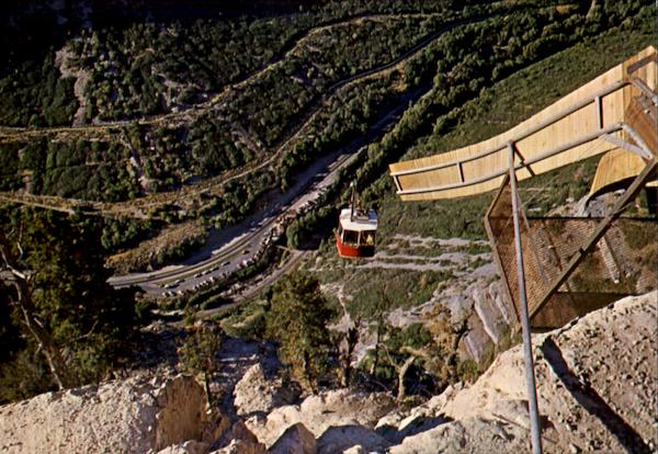 The Sky Ride Bridal Veil Falls Provo Canyon Utah