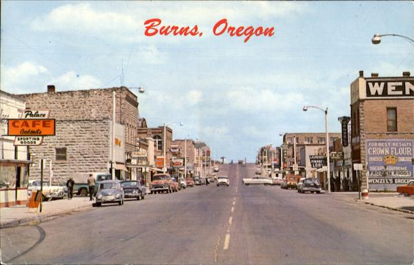 Burns Oregon
