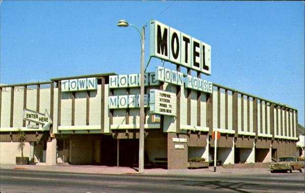 Town House Motel, Fourth and K Streets Eureka California