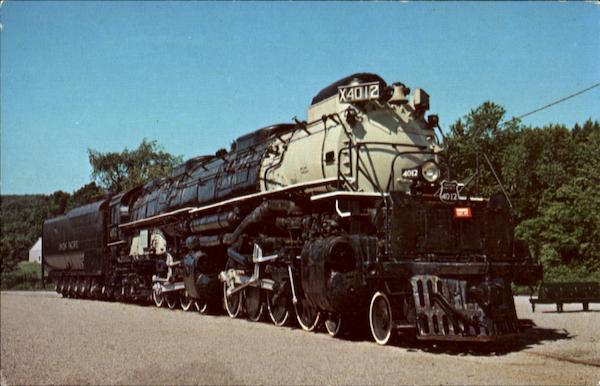 Union Pacific 4012 Trains, Railroad