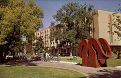A View On The Davis Campus Of The University Of California
