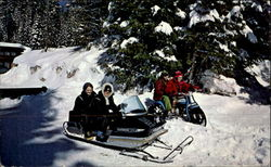 Diamond Lake Lodge Snowmobile