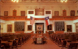 Texas House Of Representatives State Capitol Postcard