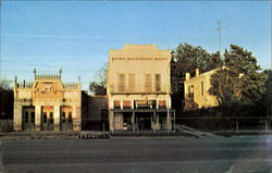 The White Elephant Saloon And Keidel Drugstore Postcard