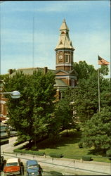 Graves County Courthouse Postcard