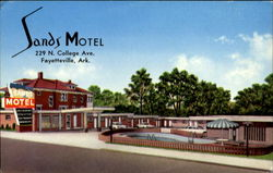 Sands Motel, U.S. Highway 71 North 229 N College Ave