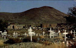 Goldfield Ghost Town Cemetery 1902