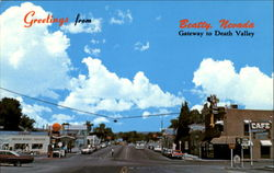 Greetings From Beatty Postcard