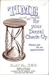 Time For Your Dental Check-Up