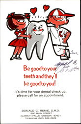 Be Good To Your Teeth And They'll Be Good To You!