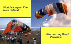 World's Largest Kite From Holland