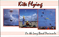 Kite Flying On The Long Beach Peninsula