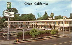 Chico Trave Lodge Postcard