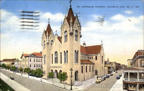 St Nicholas Church Atlantic City Nj